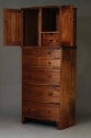 Dalhousie Bowfront Dresser and Dressing Cabinet